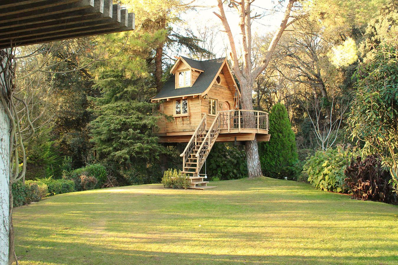 Construccion de casas en los árboles